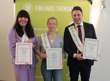 Finlands svenska 4H utsåg 4H-hjältar jubileumsåret till ära